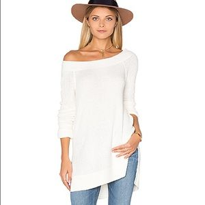 FREE PEOPLE We the Free Kate Thermal Ivory Size S
